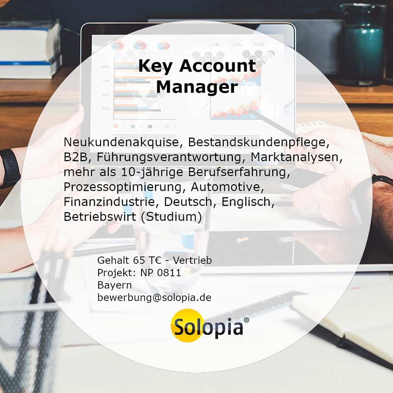 Bewerber Key Account Manager