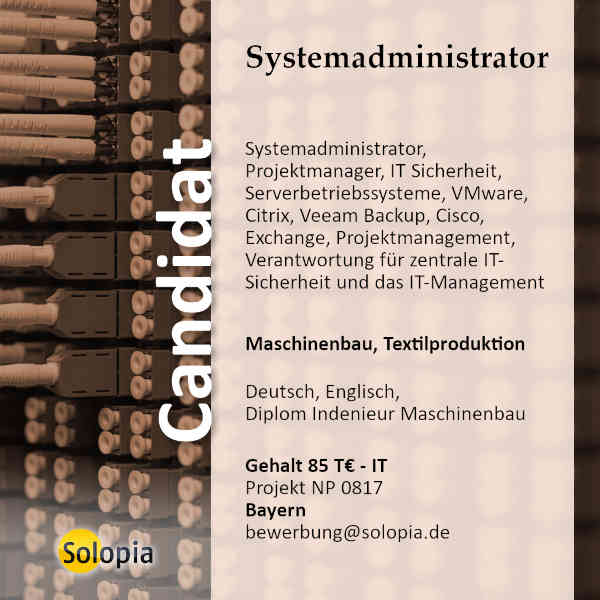 Systemadministrator 0817