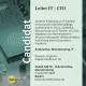 Bewerber Leiter IT - CIO