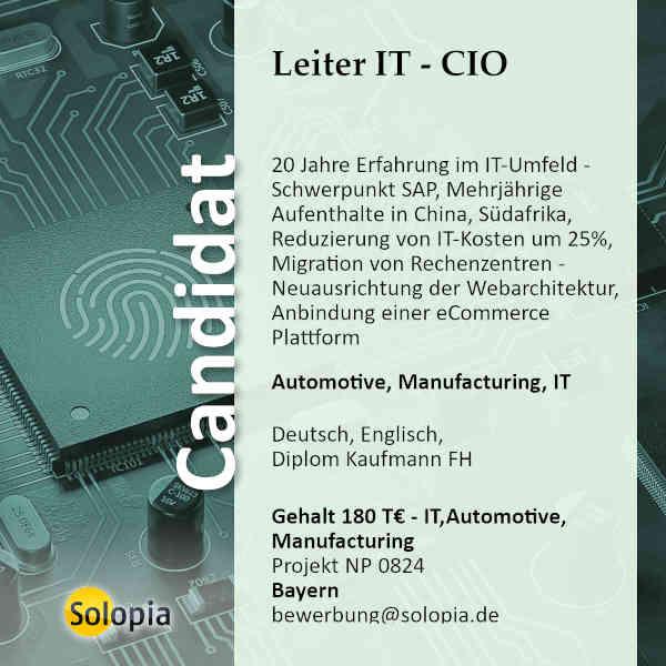 Leier IT - CIO 0824