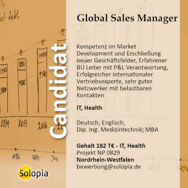 Global Sales Manager 0829