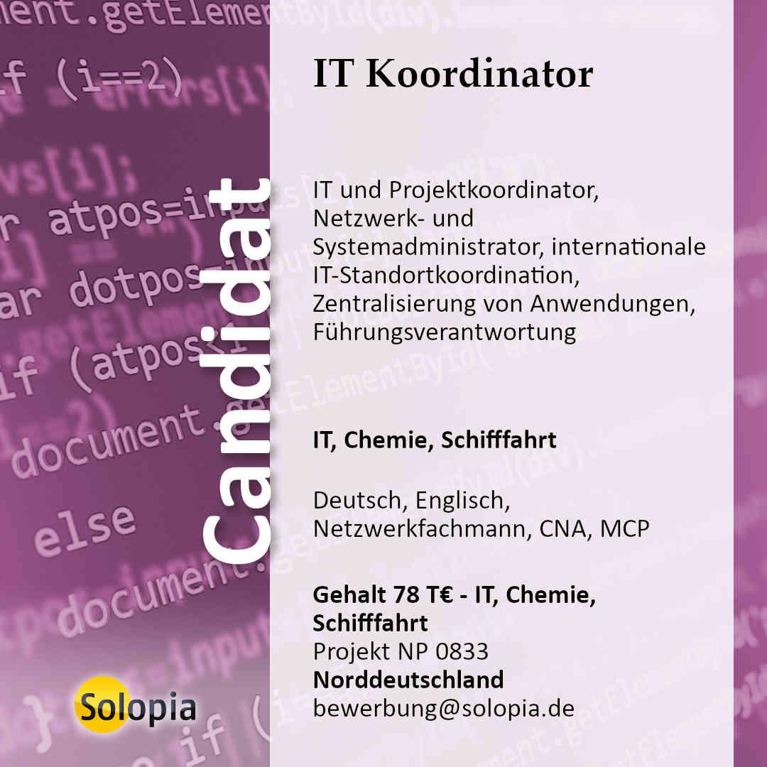 IT Koordinator 0833