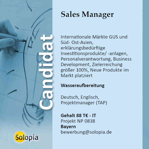Sales Manager 0838