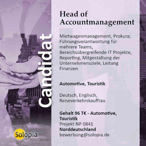 Head of Accountmanagement 0841