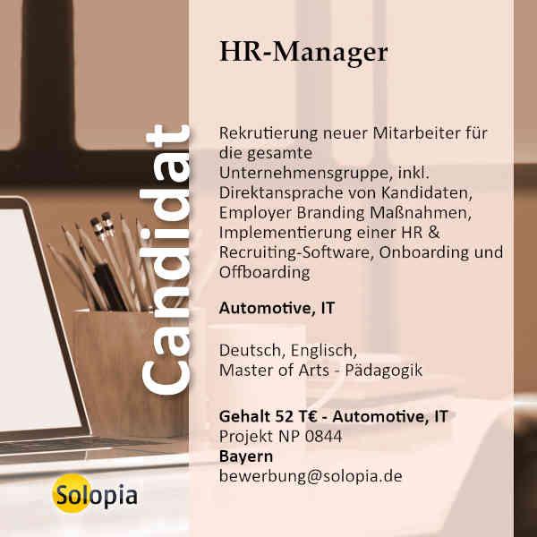 HR Mananger 0844