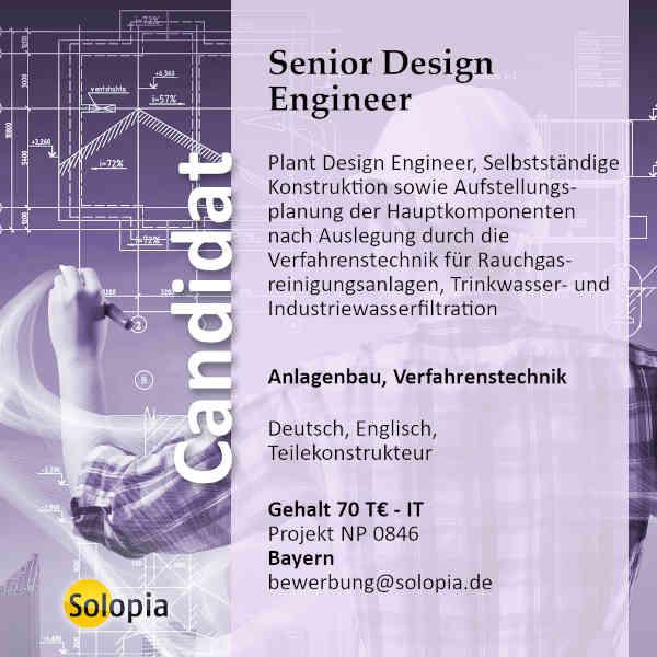 Senior Design Engineer 0846