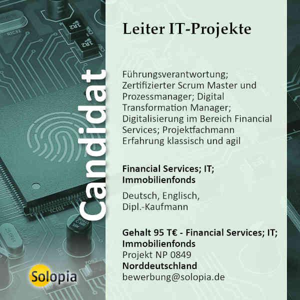 Leiter IT-Projekte 0849