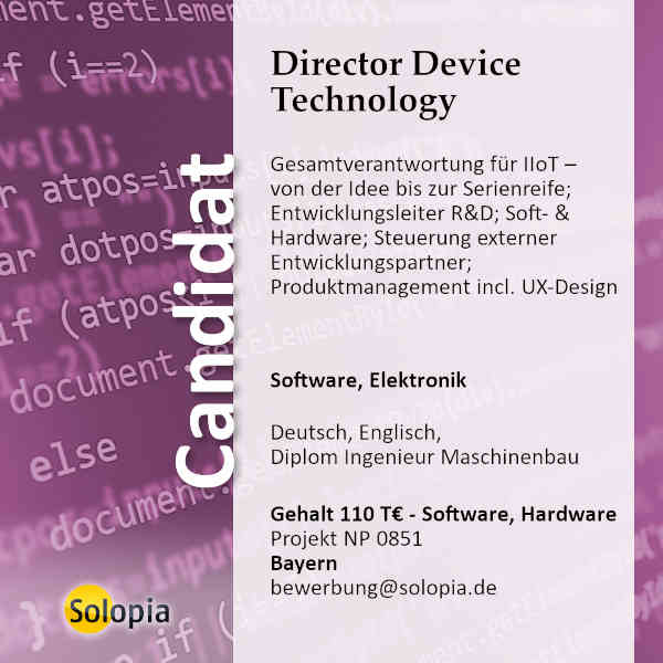 Director Device Technology 0851