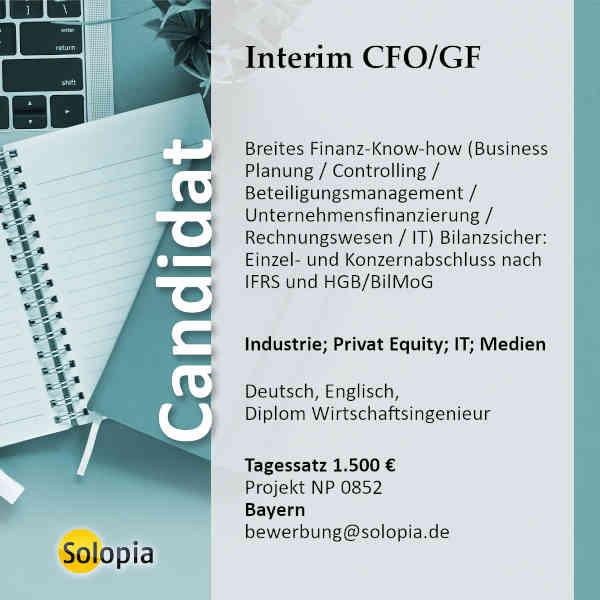 Interim CFO/GF 0852