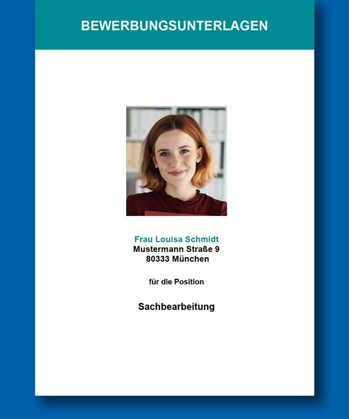 Solopia Bewerbung Starter Titelseite