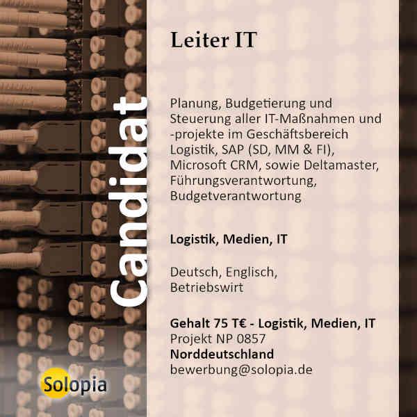 Leiter IT 0857