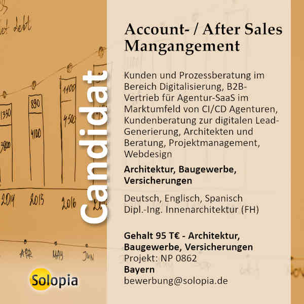 Account- / After Sales Mangangement 0862