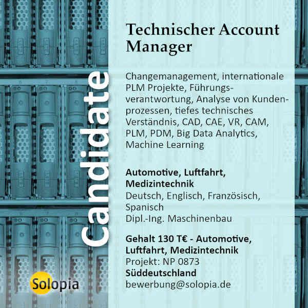 Technischer Account Manager 0873
