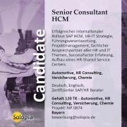Senior Consultant HCM Kundenmanager