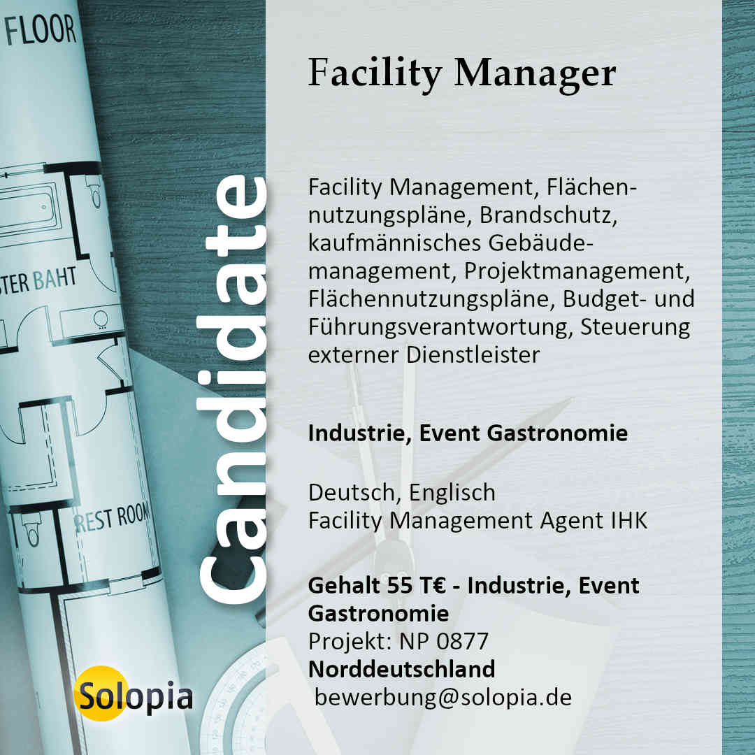 Facility Manager 0877